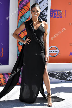 Editorial picture of BET Awards, Arrivals, Los Angeles, USA - 24 Jun 2018