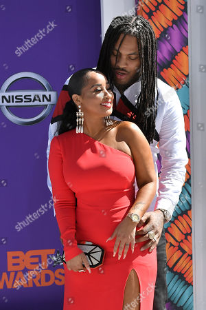 Stock Picture of Waka Flocka Flame and Tammy Rivera