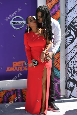 Waka Flocka Flame and Tammy Rivera