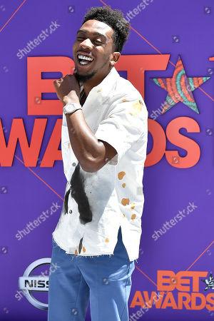 Editorial image of BET Awards, Arrivals, Los Angeles, USA - 24 Jun 2018