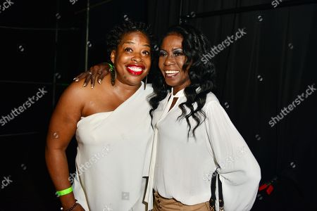 Adele Givens and Melanie Comarcho