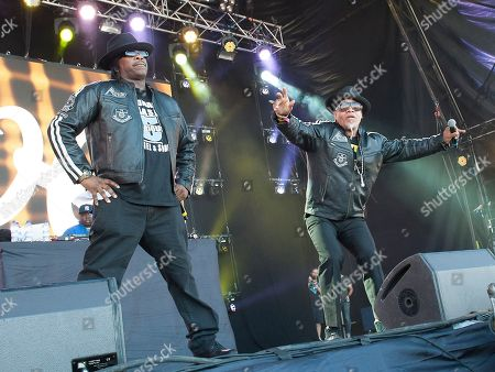 Stock Image of Grand Master Flash and Melle Mel