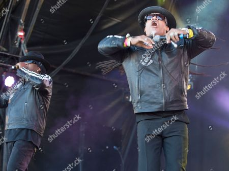Grand Master Flash and Melle Mel
