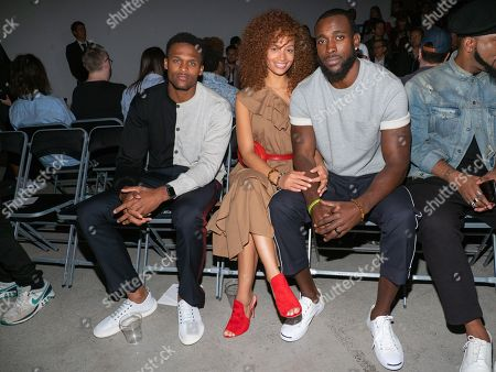 Brice Butler, Tiffany Luce and Kam Chancellor