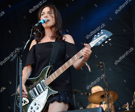 Stock Picture of The Bangles - Susanna Hoffs