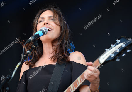 Stock Image of The Bangles - Susanna Hoffs