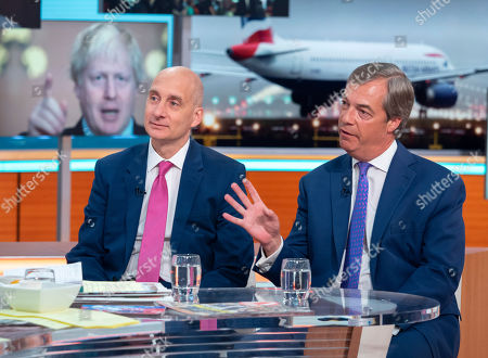Lord Adonis and Nigel Farage