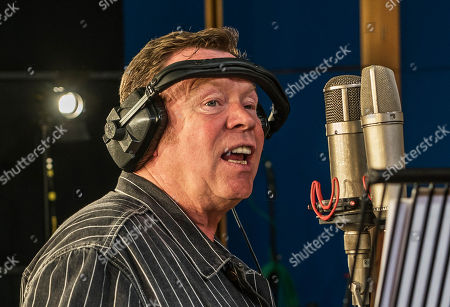 Ali Campbell from UB40 recording at Abbey Road Studios