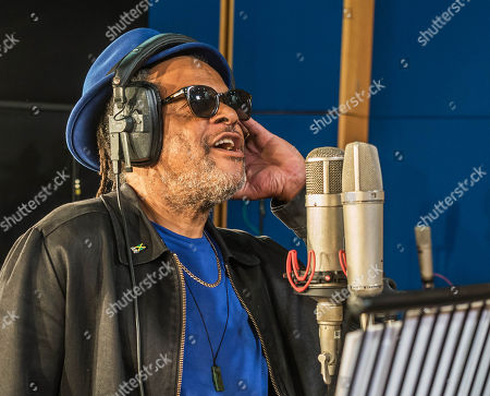 Terence Wilson from UB40 recording at Abbey Road Studios
