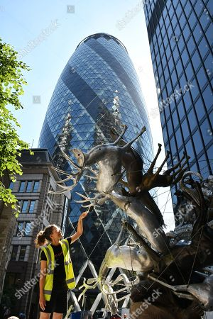 Editorial picture of Sculpture in the City photocall, London, UK - 25 Jun 2018