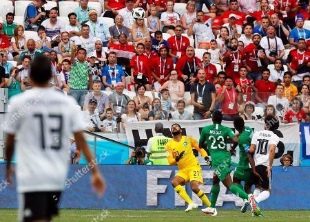 Editorial picture of Group A Saudi Arabia vs Egypt, Volgograd, Russian Federation - 25 Jun 2018