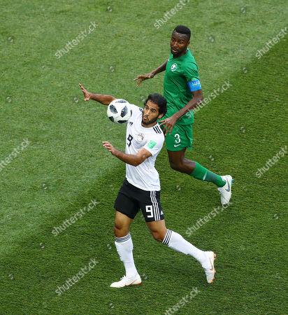 Editorial photo of Saudia Arabia v Egypt, Group A, 2018 FIFA World Cup football match, Volgograd Stadium, Russia - 25 Jun 2018