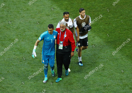 Stock Picture of Egypt goalkeeper Essam El-Hadary