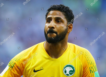 Saudi Arabia goalkeeper Yasser Al-Mosailem