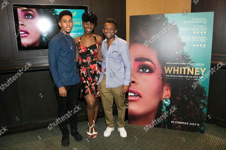 Christopher Tendai, Miriam-Teak Lee and Jason Pennycooke