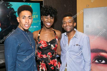 Stock Photo of Christopher Tendai, Miriam-Teak Lee and Jason Pennycooke