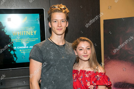 James Roxby Brown and Hollie Steel