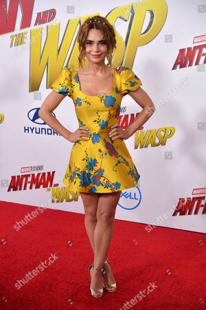 Editorial photo of 'Ant-Man and The Wasp' film premiere, Arrivals, Los Angeles, USA - 25 Jun 2018