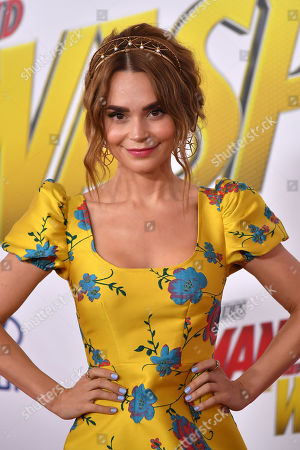 Editorial picture of 'Ant-Man and The Wasp' film premiere, Arrivals, Los Angeles, USA - 25 Jun 2018