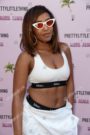 Editorial picture of Pretty Little Thing x Maya Jama party, MNKY HSE, London, UK - 25 Jun 2018