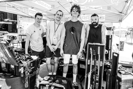 Don Broco - Rob Damiani, Matt Donnelly, Simon Delaney, Tom Doyle