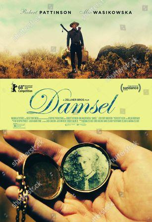 Damsel (2018) Poster Art. Robert Pattinson, Mia Wasikowska