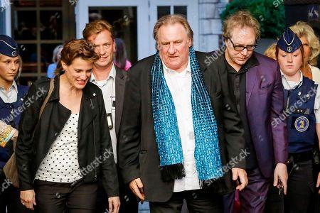 Editorial photo of Gerard Depardieu visit to Brussels, Belgium - 25 Jun 2018