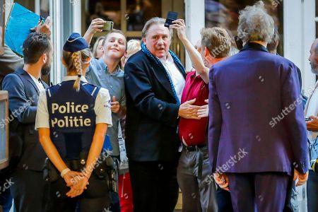Stock Photo of Gerard Depardieu
