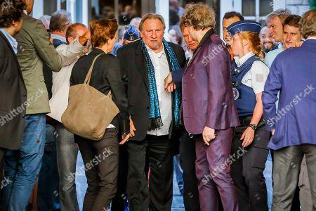Editorial picture of Gerard Depardieu visit to Brussels, Belgium - 25 Jun 2018