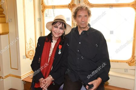 Anna Karina, Maurice Cooks - Anna Karina received the insignia of Knight of the Legion of Honor
