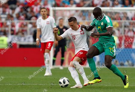 Editorial photo of Russia Soccer WCup Poland Senegal, Moscow, Russian Federation - 19 Jun 2018