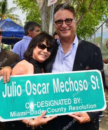 Andy Garcia and Linda Ruiz Mechoso