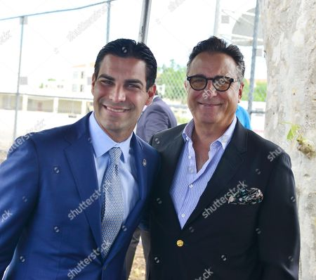 Miami Mayor Francis X. Suarez and Andy Garcia