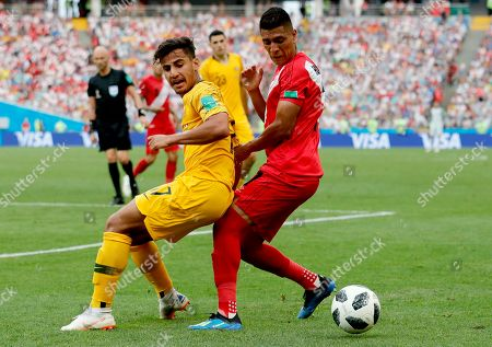 Editorial photo of Group C Australia vs Peru, Sochi, Russian Federation - 26 Jun 2018