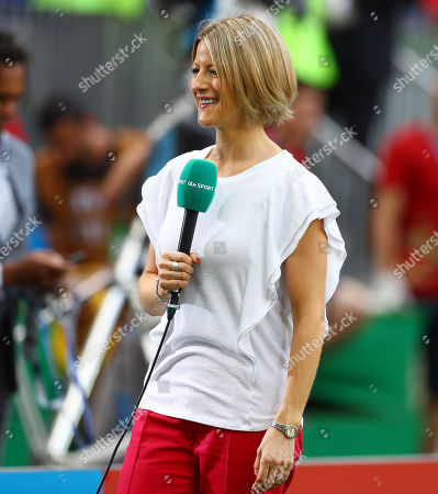 ITV presenter Jacqui Oatley reports on the game