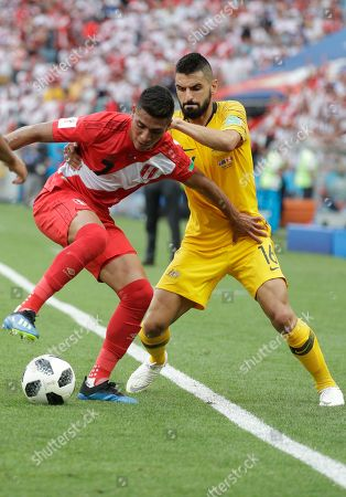 Editorial image of Russia Soccer WCup Australia Peru, Sochi, Russian Federation - 26 Jun 2018