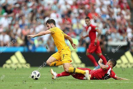 Editorial image of Australia v Peru , Group C, 2018 FIFA World Cup football match, Fisht Olympic Stadium, Sochi, Russia - 26 Jun 2018