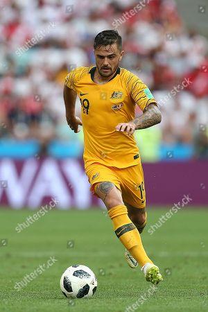 Editorial picture of Australia v Peru , Group C, 2018 FIFA World Cup football match, Fisht Olympic Stadium, Sochi, Russia - 26 Jun 2018