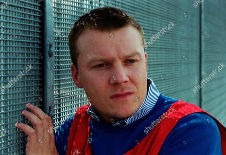 Stock Picture of Ep 2580 Tuesday 21st September 1999 Kathy visits her brother Nick in prison to tell him of Elsa's return. He begs her to keep his former wife away from Alice and that he's depending on her - With Nick Bates, as played by Cy Chadwick.
