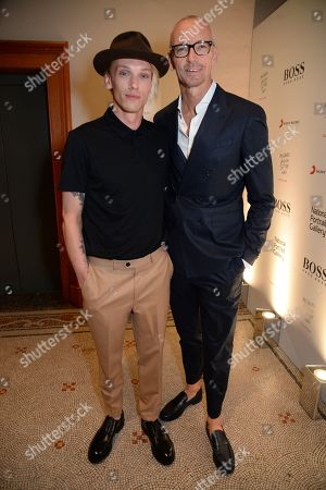 Jamie Campbell Bower and Ingo Wilts