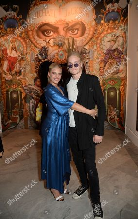 Stock Image of Tigerlily Taylor and Rufus Taylor