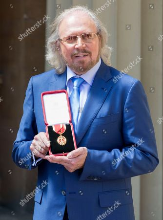Singer and songwriter Barry Gibb
