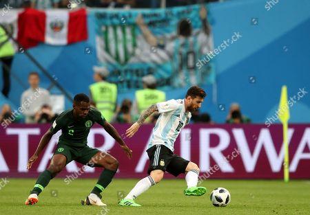 Editorial photo of Nigeria v Argentina, Group D, 2018 FIFA World Cup football match, Saint Petersburg Stadium, Russia - 26 Jun 2018