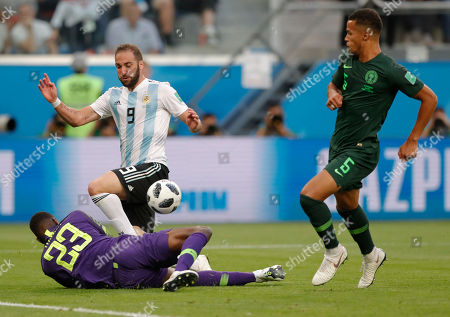 Editorial picture of Russia Soccer WCup Nigeria Argentina, St. Petersburg, Russian Federation - 26 Jun 2018