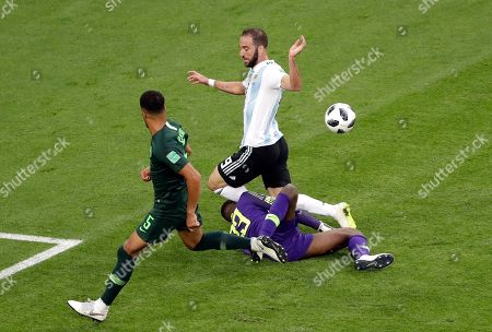 Editorial image of Russia Soccer WCup Nigeria Argentina, St. Petersburg, Russian Federation - 26 Jun 2018