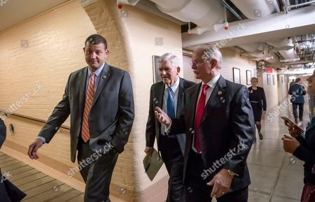 David Valadao, Daniel Webster, John Rutherford. Rep. David Valadao, R-Calif., Rep. Daniel Webster, R-Fla., and Rep. John Rutherford, R-Fla., walk to a closed-door GOP strategy session at the Capitol in Washington, . House Speaker Paul Ryan has scheduled a long-awaited showdown vote on a broad Republican immigration bill for Wednesday, but he's showing little confidence that the package will survive