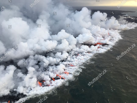 Kilauea volcano erupts, Hawaii