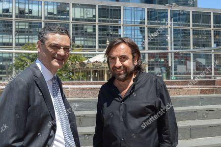 Patrick Devedjian and Andre Manoukian