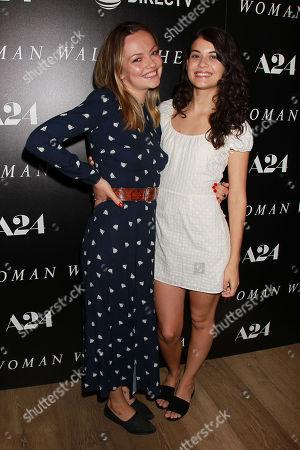 Stock Photo of Emily Meade and Sofia Black - D-Elia