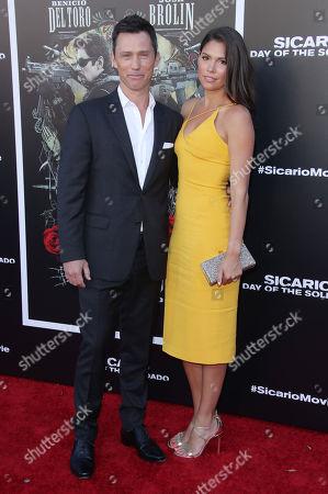 Editorial picture of 'Sicario: Day of the Soldado' film premiere, Arrivals, Los Angeles, USA - 26 Jun 2018